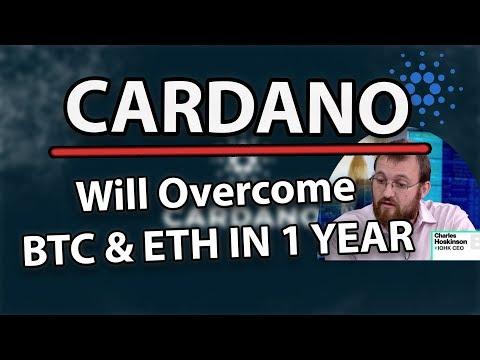 'Cardano (ADA) Will Overcome BTC And ETH In 1 Year!' – CEO of Cardano