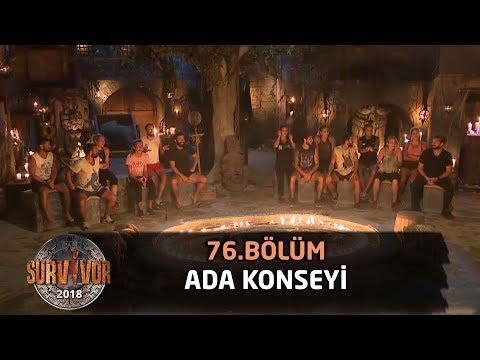 Ada konseyi | 76. bölüm | Survivor 2018