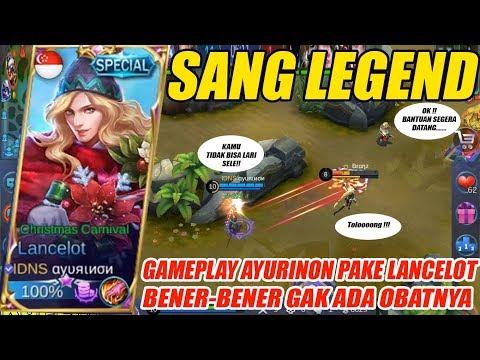 GG BENER !! Ayurinon PAKE Lancelot GAK Ada Obatnya – Mobile Legends