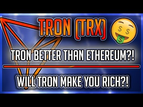 Will TRON ($TRX) Make You RICH?! Is Tron BETTER Than Ethereum?! Exciting NEWS Surfacing!