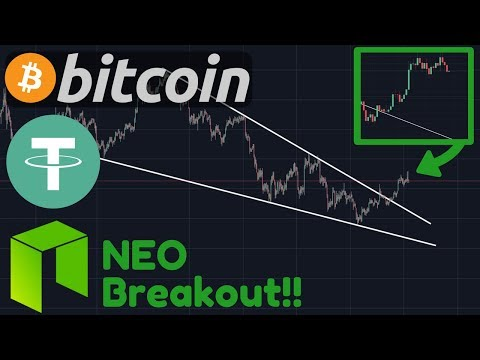 Bitcoin & NEO Breaking Out!! | Tether (USDT) Creating A Quarter Billion Dollars [Bitcoin Today]