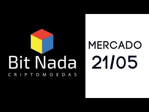 Mercado de Cripto! 21/05 Bitcoin 8.400 USD / EOS novo topo? / Blockspot Latam