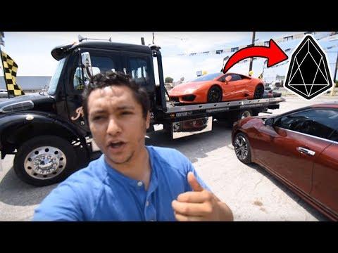 Продал Lamborghini за Криптовалюту EOS