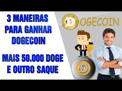 MAIS 50.000 DOGECOIN – 3 FORMAS DE GANHAR E SAQUE DE 3.600 DOGECOIN NA DOGEMINER