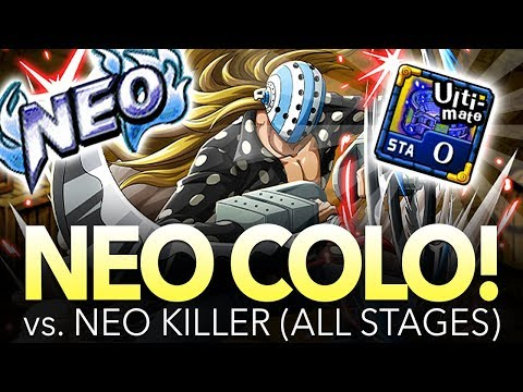 NEO COLISEUM KILLER! ALL STAGES! (Including 0 Stamina) (One Piece Treasure Cruise – Global)