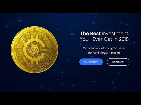Cyronium – Cryptocurrency Asli Indo Dengan Jaminan Logam Mulia