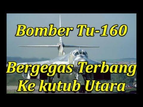 Mengejutkan!! Rusia Segera Terbangkan Bomber Tu-160 ke Kutub Utara.. Wah Ada Apa Ya..??