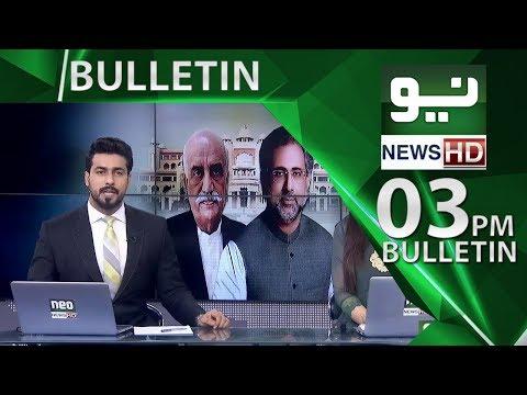 News Bulletin | 03:00 PM – 22 May 2018 | Neo News HD