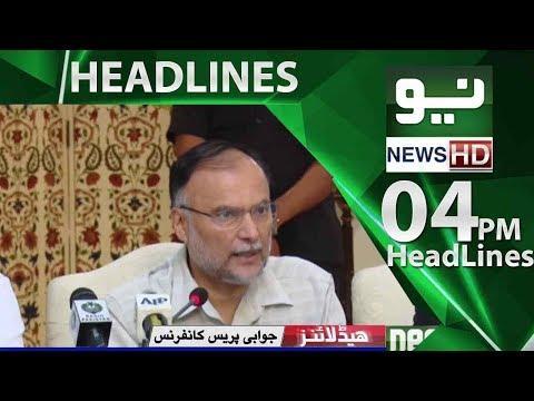 Neo News Headlines,04:00PM – Neo News – 22 May 2018