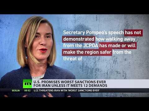 Neo-Imperialismus pur: USA stellen 12 Forderungen an Iran (Video)