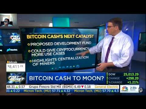 Bitcoin vs Bitcoin Cash?!  | CNBC Fast Money