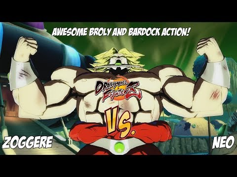 Zoggere(Broly/Bardock/SSJ Vegeta) Fights Neo(Goku Black/Gotenks/Bardock)![DBFZ]