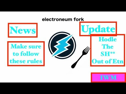 ELECTRONEUM UPDATE / FOLLOW THESE STEPS!! HODLE!!!!!!!!!