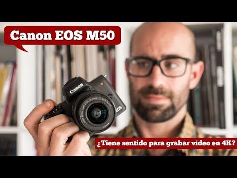 Canon EOS M50: ¿Es una buena opción para grabar vídeo en 4K?