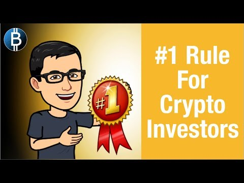 #1 MOST IMPORTANT Rule For Crypto Investors! (Cryptocurrency Investment Strategy)
