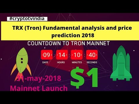 Trx (tron) coin price prediction 2018 $1 ??? || Trx (tron) coin fundamental analysis || (Hindi/Urdu)