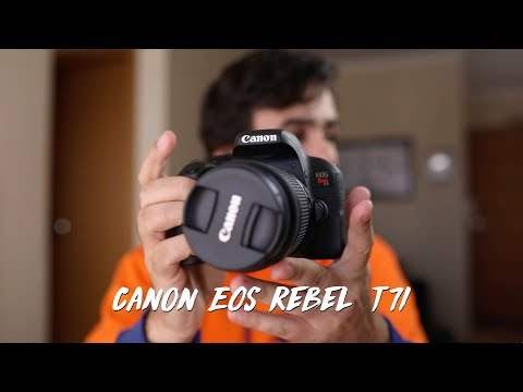 Canon EOS Rebel T7i – Review