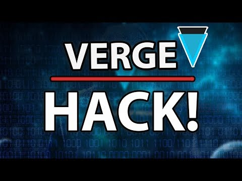 [WARNING!] Verge (XVG) $1.75M HACK! What's Going On?