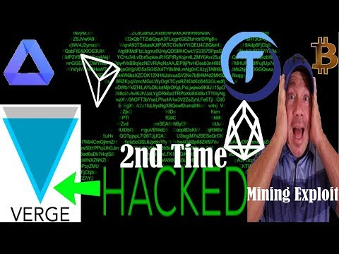 XVG Verge 2nd Hack? – Achain Coin – Ethereum Classic to $500? TRX EOS