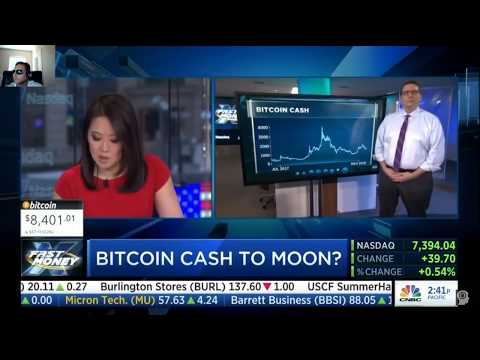 Bitcoin Cash to the Moon!?  | CNBC Fast Money