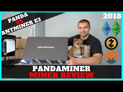 Pandaminer B3 Pro 230 mh/s ETH GPU Mining Rig 2018 Review VS Bitmain Antminer E3