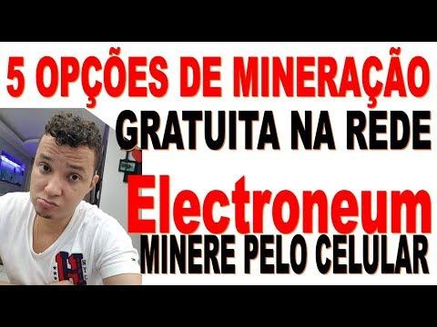 5 Opções de mineração gratuita na REDE – MINERE Electroneum pelo CELULAR