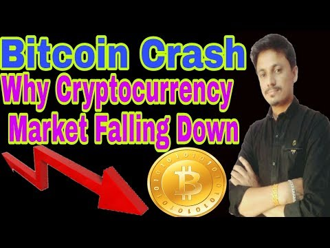 Bitcoin Crash | Why Cryptocurrency Market Falling Down? being Idia Crypto Tech