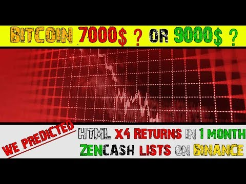 BITCOIN to 9000$ or 7000$ ? Tron Update in Hindi/Urdu