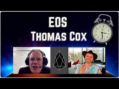 EOS Nears Launch – A Talk With Thomas Cox