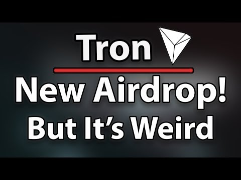 Tron (TRX) Giving Away FREE Money In A New Airdrop?!