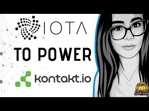 IOTA Top 5 Altcoin AND New ATH?! Asset Tracking with Kontakt.io And Tangle!