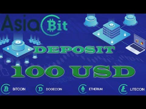 НОВИНКА! Asia BIT – инвестирую 100 USD! BTC | LTC | ETH | DOGE | USD