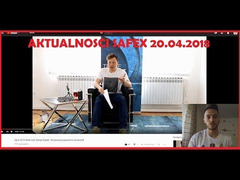 SAFEX Update Kwiecień 2018: pytania i odpowiedzi od społeczności (przetłumaczone na j.polski)