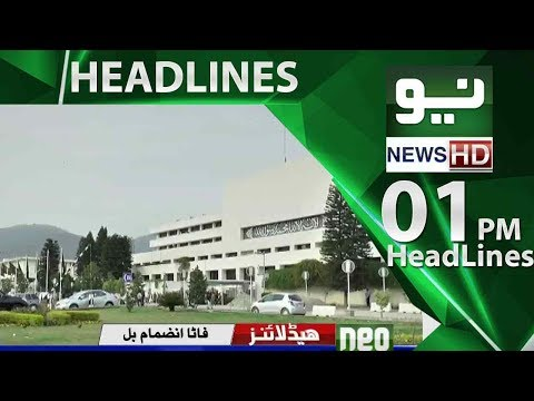 Neo News Headlins 01:00PM – Neo News -24 May 2018