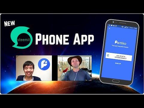 New Steemit Phone App – Partiko