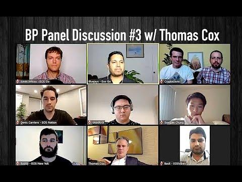 EOS BP Panel Discussion #3 – from Episode 13 on EOSRad.io #blockchain #crypto