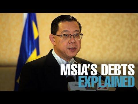 NEWS: Govt gives breakdown of M'sia's debt