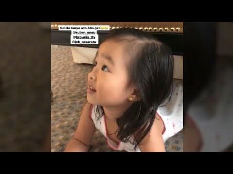 """Sarwendah Bingung kalau Thalia Nonton TV Slalu Nanya """"ada Thalia gaa…"""""""