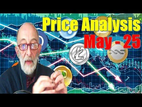 Bitcoin, Ethereum, Ripple, Bitcoin Cash, Litecoin, Cardano, Stellar, TRON Price Analysis, May – 25