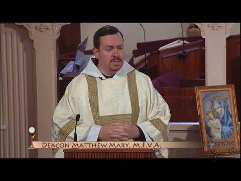 Daily Catholic Mass – 2018-05-24 – Dcn. Matthew