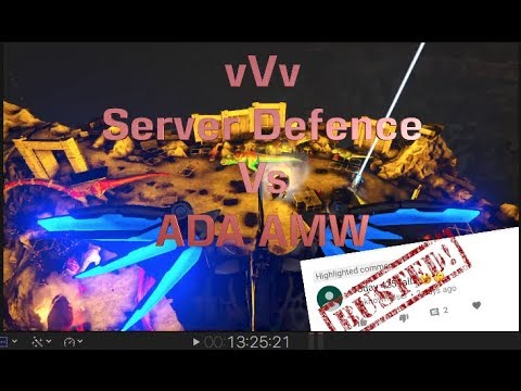vVv – Main Server defence Vs ADA AMW And DMC