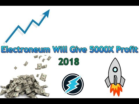 Electroneum Will Give 5000X Profit I September 2018