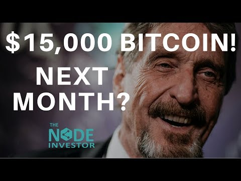 McAfee's Bitcoin Prediction – $15K in June! | Market Update BTC BNB EOS ETH