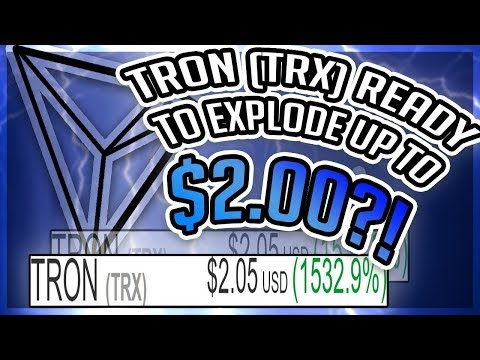 (TRX) TRON WILL HIT  $20?- GREAT INFORMATION (Why I Bought 100,000 Tron)