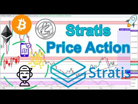 Stratis (STRAT/BTC) + BTC/ETH/LTC Technical Analysis!