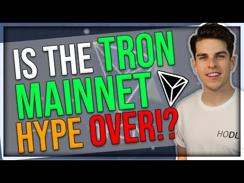 Is the TRON (TRX) MAINNET Hype Over !?  – TRON Technical Analysis – Crypto & Bitcoin Market Recap