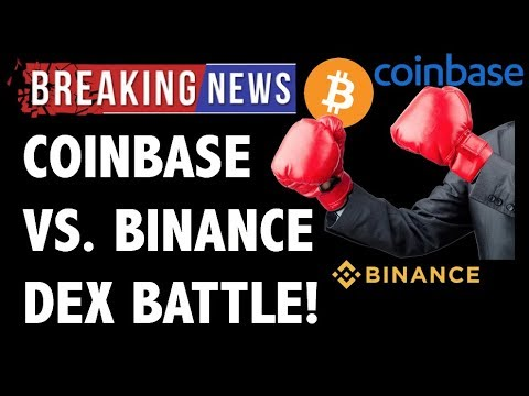 CRYPTO: COINBASE VS. BINANCE DEX WAR! PARADEX DECENTRALIZED EXCHANGE, 0X ZRX VS. BNB CRYPTOCURRENCY