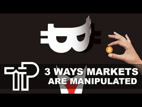 3 Common Ways Cryptocurrency Markets Are Manipulated Every Day! What You Need To Know…