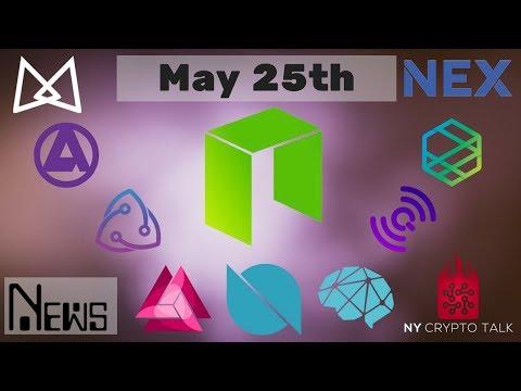 NEO News May 25th 2018 – Ontology | NEX | Zeepin | AlphaCat | QLC | Trinity | DeepBrain | Bridge