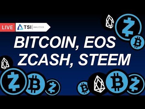 Bitcoin, Zcash, Steem, EOS. Торговый план на неделю | Прогноз цены на Биткоин, Стим, Криптовалюты